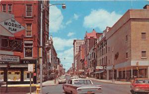 Wheeling West Virginia~Market Street~Kings~Morris Plan~Victoria~60s Cars