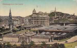 EDINBURGH, Scotland, PU-1923; Edinburgh From The Castle