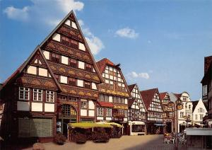 Staatsbad Salzuflen Fachwerkhauser in der Langen Strasse Shops
