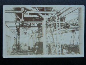 WESTINGHOUSE COMPANY WORKS shows Method of Heating & Ventilating c1904 RP PC