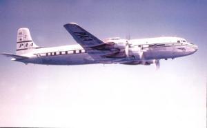 Douglas DC-7B Propliner - Pan American Airways