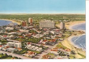 Postal 031884 : Punta del Este (Uruguay). Vista parical desde la peninsula. A...