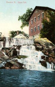 VT - Brandon. Upper Falls