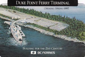 Duke Point Ferry Terminal , B.C. , Canada , 1997