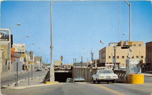 Bankhead Tunnel Cars Mobile Alabama postcard