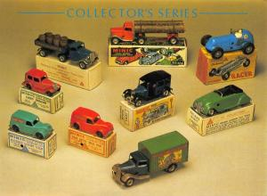 Postcard Collectors Series Minic Toys, English c1930/40, by Athena Int. #796