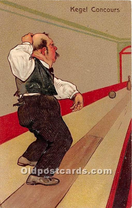Kegel Concours Bowling 1908