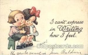 Artist Signed Twelvetrees, Postcard Postcards No. 1001 Artist Twelvetrees Pos...