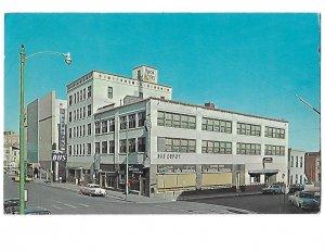 Knox Hotel and Greyhound Bus Station El Paso Texas 1950s