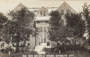 RP: RANDOLPH , Nebraska , 1910 ; The New Catholic School