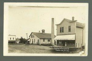 Corning MINNESOTA RP 1915 GENERAL STORE Creamery nr Austin Lansing GHOST TOWN