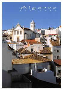 Portugal Albufeira Algarve Eglise Church General view