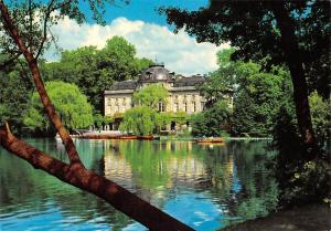 Ludwigsburg Wuertt Schloss Monrepos Castle Lake Boats