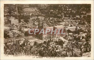 Old Postcard General Orleans-View Airline