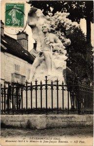 CPA Ermenonville- Monument Memoire de Jean Jacques Rousseau FRANCE (1020459)