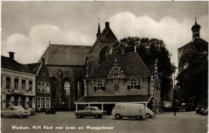 CPA WORKUM N.H. Kerk met toren NETHERLANDS (604631)