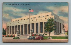 Soldiers' Memorial St Louis MO Missouri Postcard