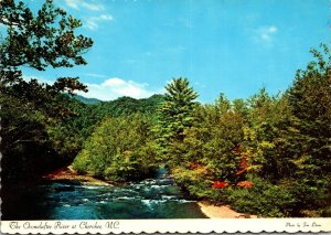 North Carolina Cherokee The Oconaluftee River