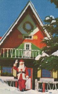 Santa Claus Village Quebec Canada Postcard