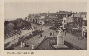 Southend On Sea Beer Whitbreads Brewery India Pale Real Ale Big Antique Postcard