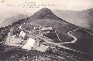 Vue d'Ensemble Du Col De Nerom Et Le Puy-Mary, Cantal, France, 1900-190s