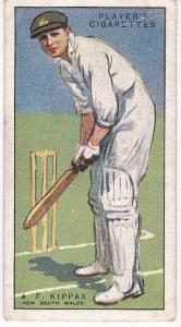 Cigarette Cards Player's Cricketers 1930 No 29 - A F Kippax