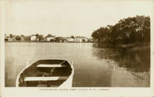 canada, PORT ELGIN, N.B., Gaspereaux River (1940s) RPPC