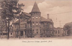 YPSILANT , Michigan , PU-1908 ; Cleary Business College