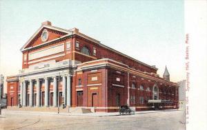 25587 MA, Boston, 1915, Symphony Hall, U.S. Series 13274