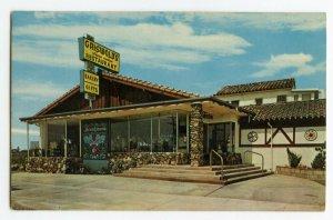 Postcard Griswold's Restaurant Claremont Calif. On Highway 66 Standard View Card