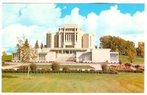 Exterior,  The Mormon Temple,  Cardston,  Alberta,  Canada,  40-60s