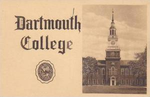New Hampshire Hanover Dartmouth College Albertype
