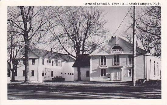 Barnard School & Town Hall, South Hampton, New Hampshire, 40-60s