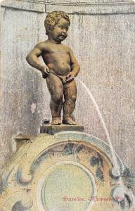 Belgium Brussels, Bruxelles Manneken-Pis, Dieser populare Brunnen, J. Duquesnoy