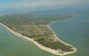 Florida Aerial View Sanibel Island 1979