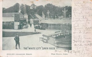 The White City, Amusement Resort, Savin Rock, West Haven, CT., 1905 postcard