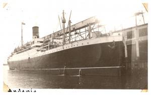 S.S. Andania ,  Cunard Line , RPC