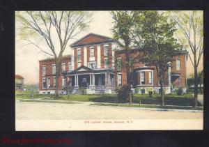 AUBURN NEW YORK OLD LADIES HOME ANTIQUE VINTAGE POSTCARD