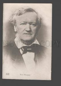 091346 Richard WAGNER Great German COMPOSER vintage PHOTO PC