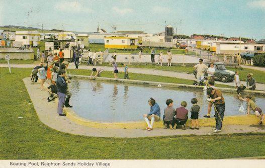 Reighton Sands Filey Yorkshire Holiday Park 1970s Caravans Postcard