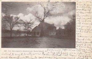 Illinois Rock Island Col Davenports Homestead 1907