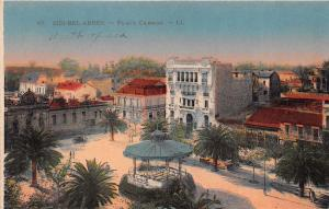 SIDI BEL ABBES ALGERIA~PLACE CARNOT~LL LEVY NEURDEIN PUBLISHED POSTCARD c1910s