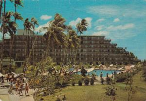 PAPEETE, Tahiti, 1950-1970´s; Hotel Maeva, Swimming Pool