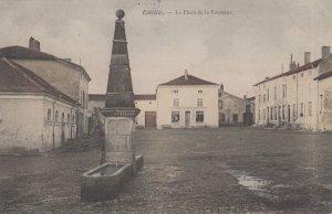 Einville-au-Jard , Meurthe et Moselle , France , 1904 ; La Place de la Fontaine