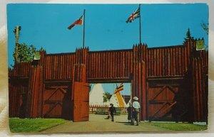 Stampede Grounds Calgary 1964 Canada Vintage Postcard