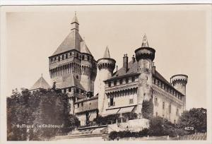 Switzerland Vufflens Le Chateau Real Photo