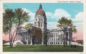 Kansas Topeka State Capitol Building 1934 Curteich