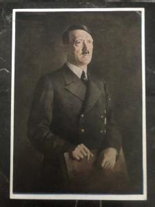 Mint Germany Picture  Postcard PPC Munich Hitler portrait