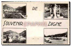 Modern Postcard Souvenir From Digne