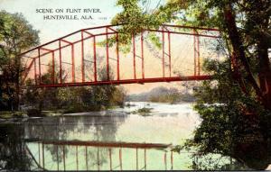 Alabama Huntsville Scene On Flint River 1908